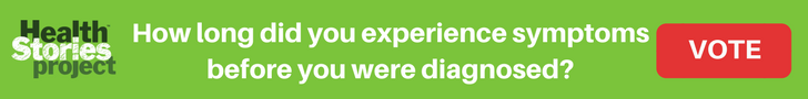 How long did you experience symptoms before you were diagnosed?