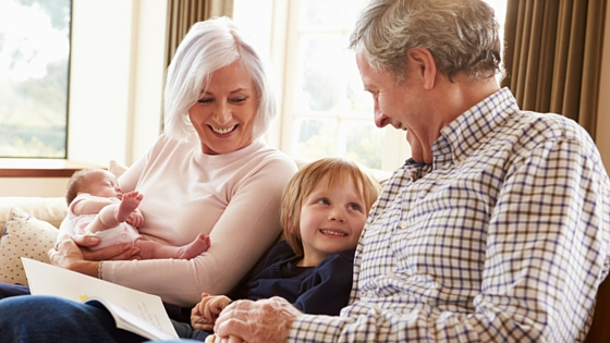 Health Stories Project Bookshelf: Talking to Children about Grandparents