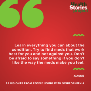 25 Insights From People Living with Schizophrenia