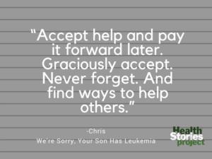 We're Sorry, Your Son Has Leukemia
