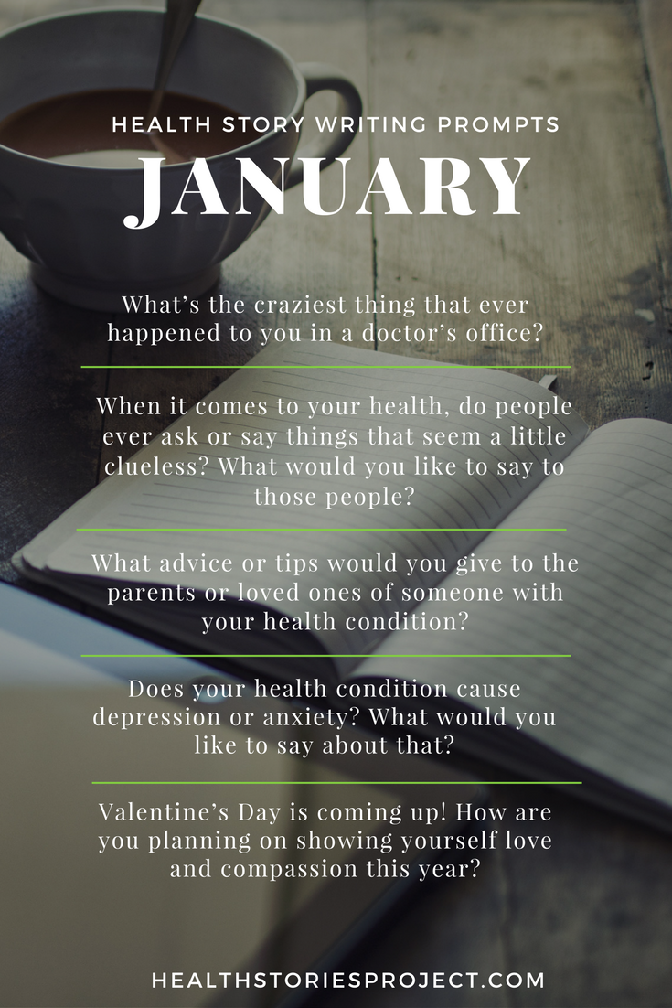 January Health Story Prompts