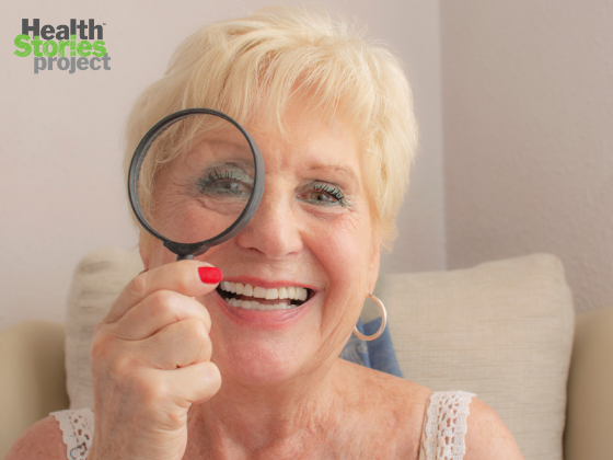 10 tips for coping with age-related eye conditions from our community