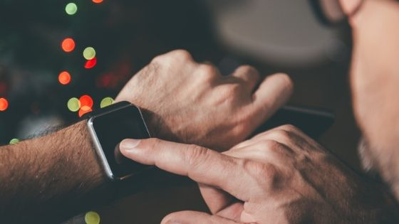 Smartwatch User